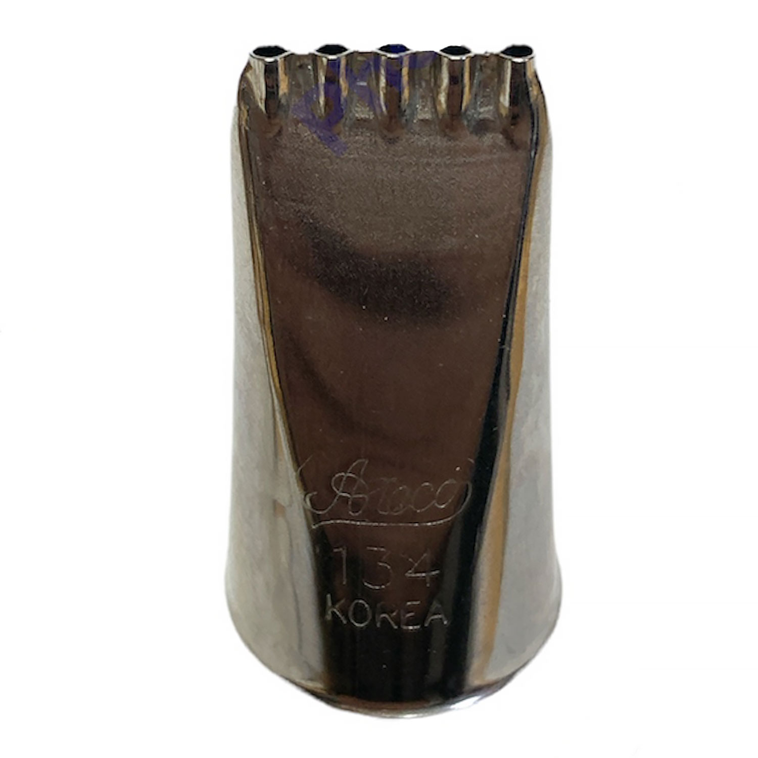 #134 Five Hole Stainless Steel Tip