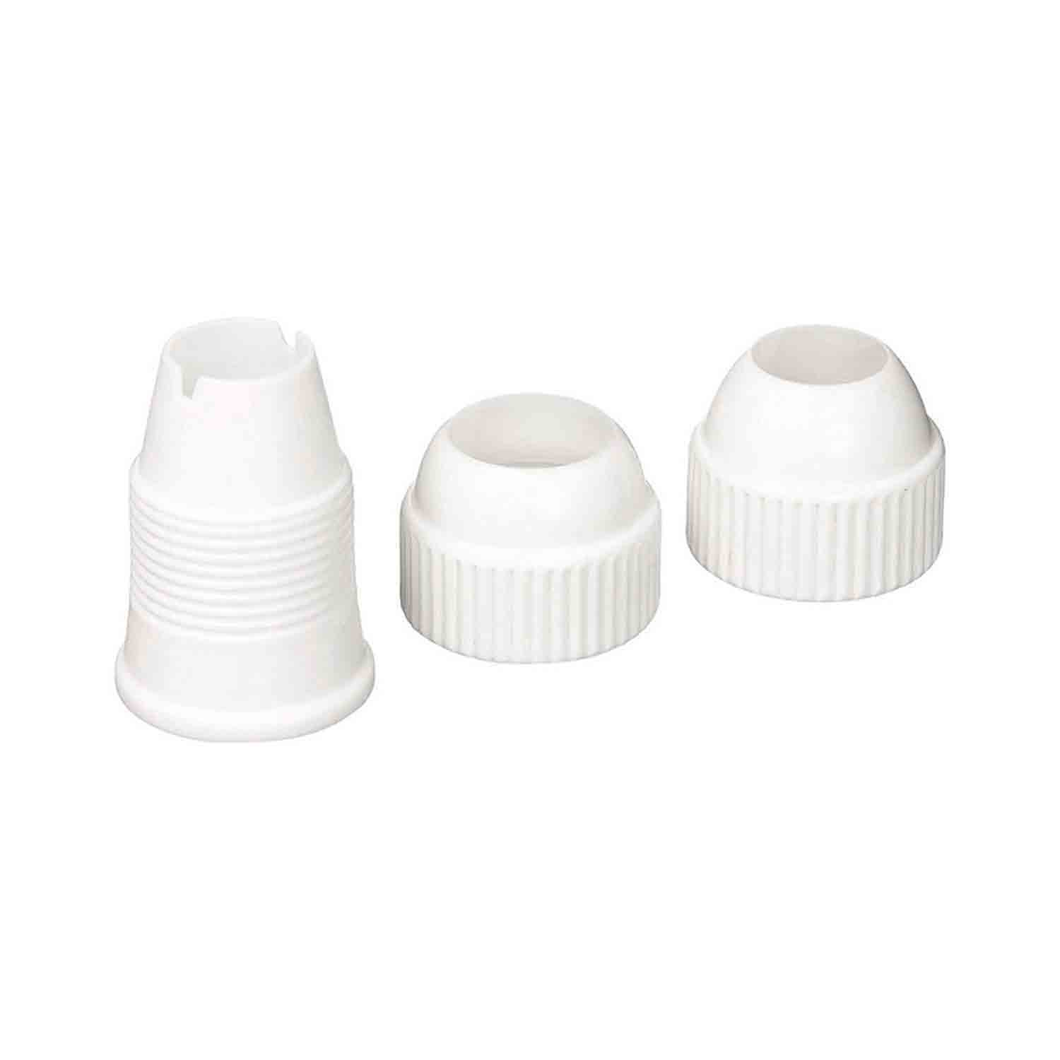 #2000 Large 3 Piece Plastic Coupler
