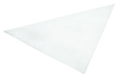 "12"" Parchment Triangles"