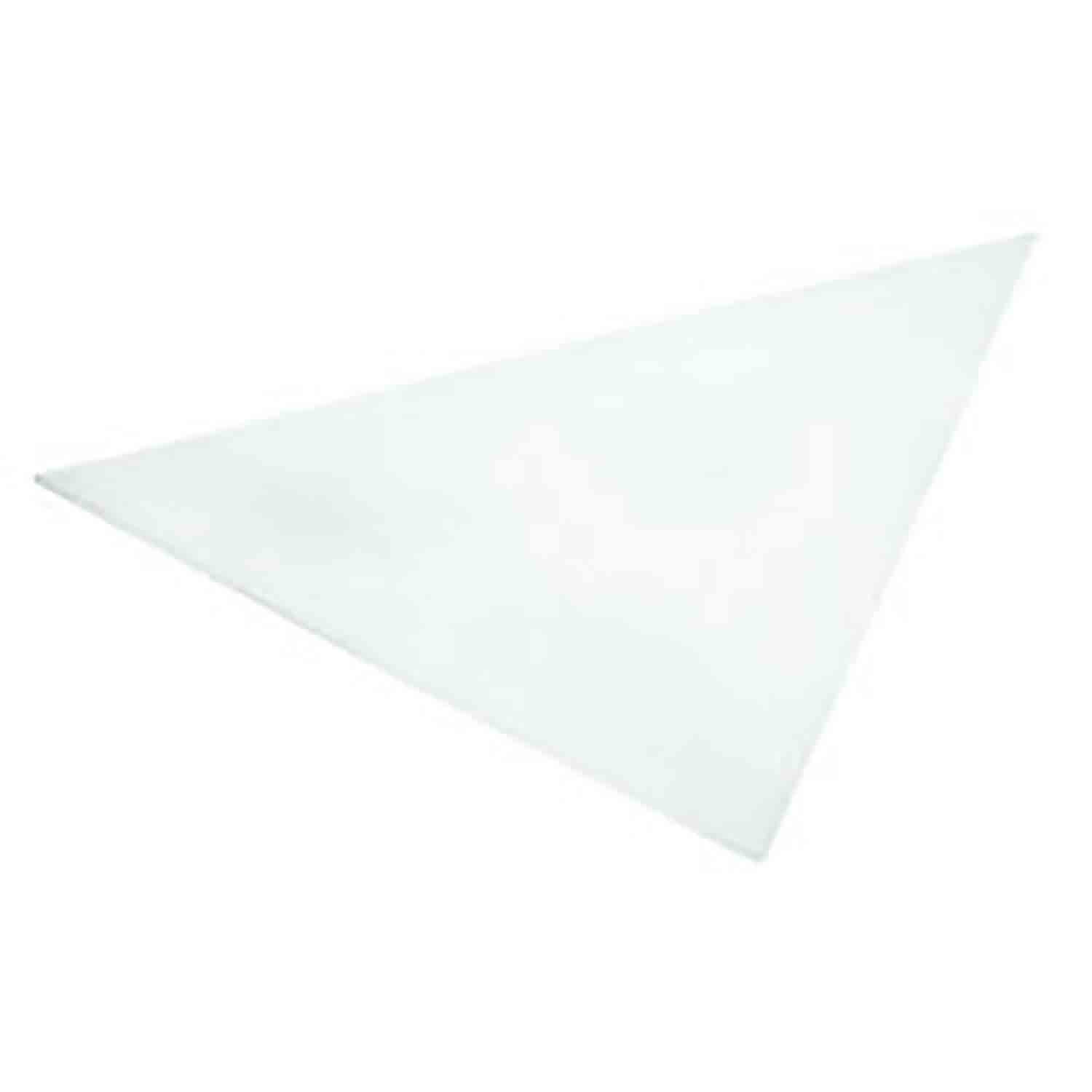 "15"" Parchment Triangles"