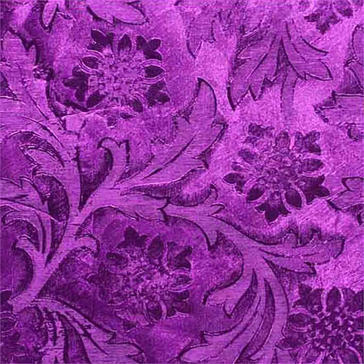 Purple Florist Poly Foil
