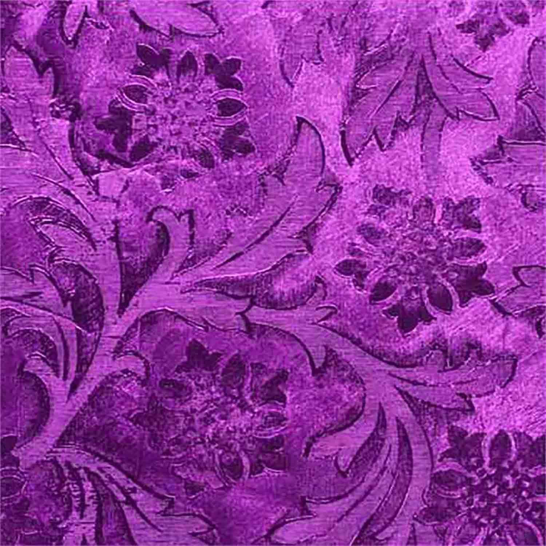 Purple Florist Poly Foil