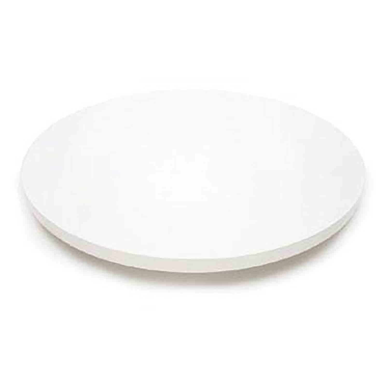 "18"" Round White Cake Serving Stand"