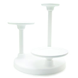 3 Tier Single Use Cake Stand