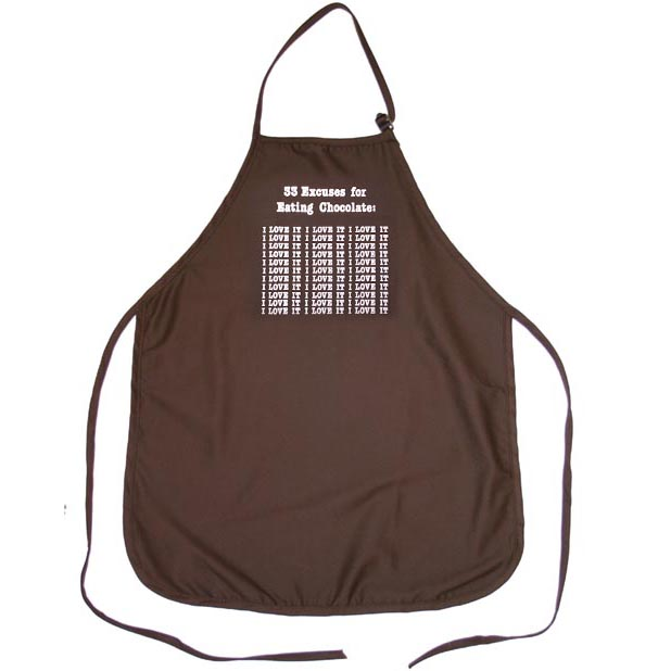 33 Excuses For Eating Chocolate Apron