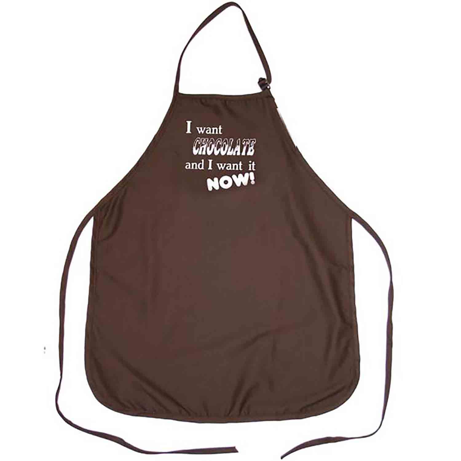 I Want Chocolate… Apron