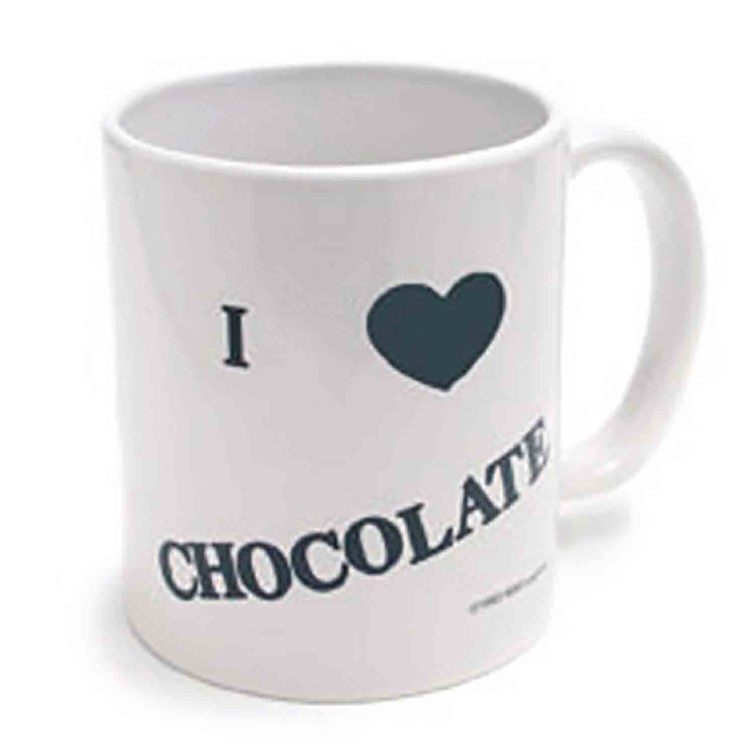 """I (Heart) CHOCOLATE"" Mug"