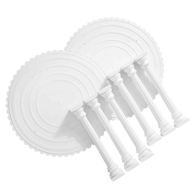 Roman 6 Column Tier Set