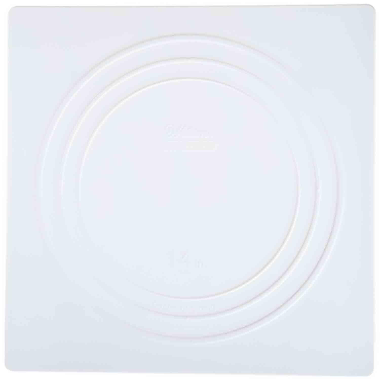 """14"""" Wilton Square White Separator Plate"""