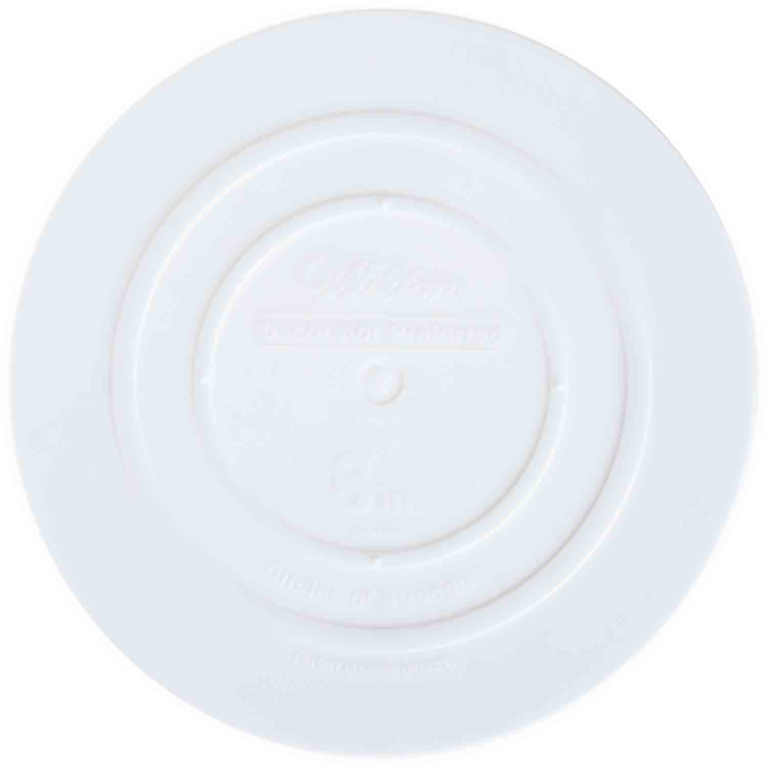 "8"" Smooth Edge Decorator Preferred Round Plate"