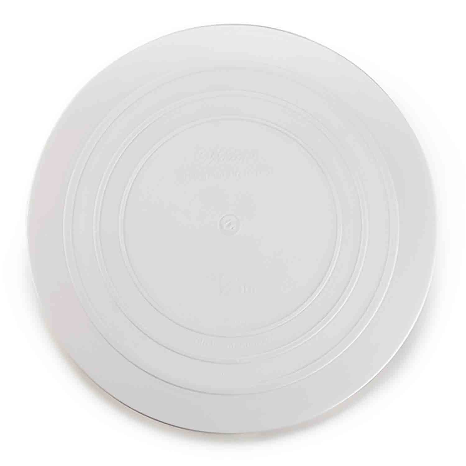 "12"" Smooth Edge Decorator Preferred Round Plate"