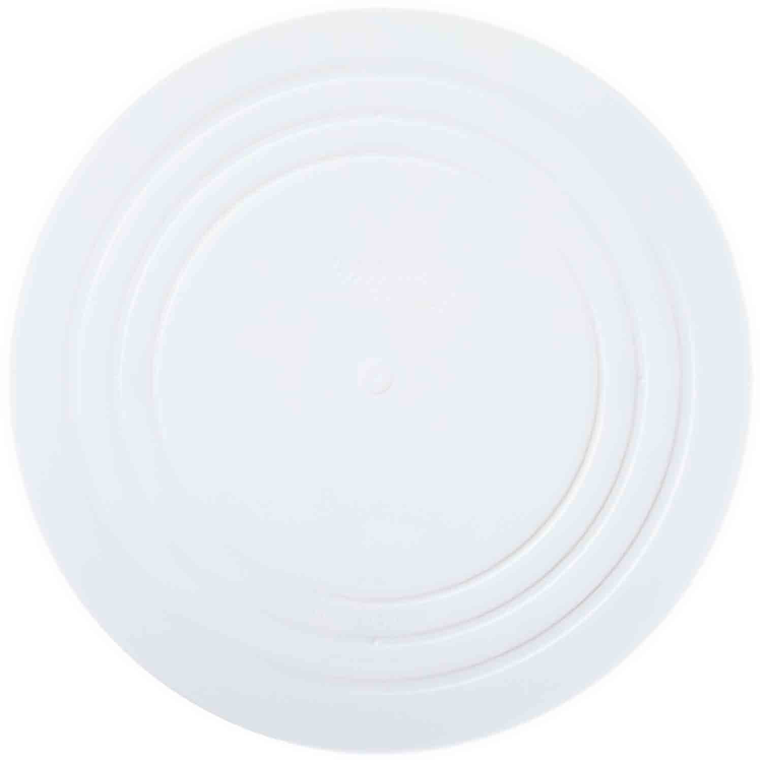 "16"" Smooth Edge Decorator Preferred Round Plate"