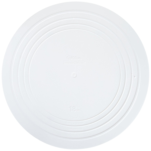 "18"" Smooth Edge Decorator Preferred Round Plate"