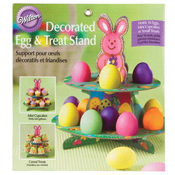 Decorated Egg and Treat Stand