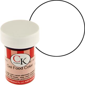 Super White CK Food Color Gel/Paste