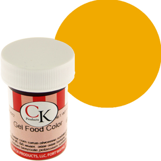 Golden Egg Yellow CK Food Color Gel/Paste