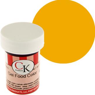 Golden Egg Yellow CK Food Color Gel/Paste