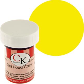 Lemon Yellow CK Food Color Gel/Paste