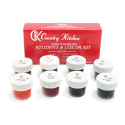 Student Kit CK Food Color Gel