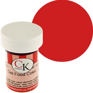No Taste Tulip Red CK Food Color Gel/Paste