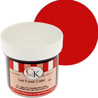 Super Red CK Food Color Gel/Paste