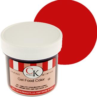 Super Red CK Food Color Gel/Paste