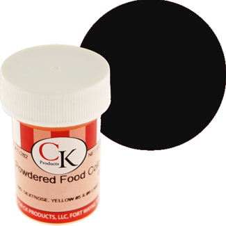 Black Powdered Food Color
