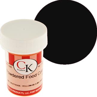 Black CK Powdered Food Color