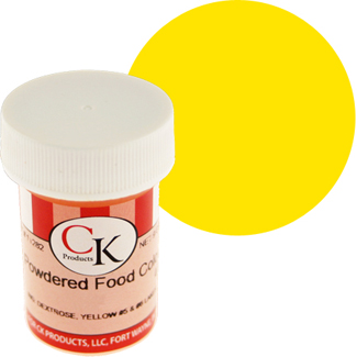 Lemon Yellow CK Powdered Food Color