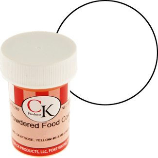 White CK Powdered Food Color