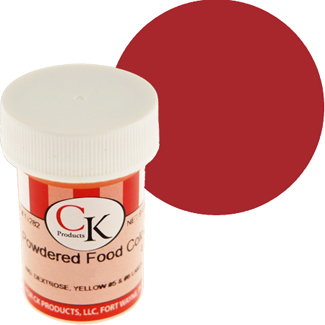 Christmas Red CK Powdered Food Color