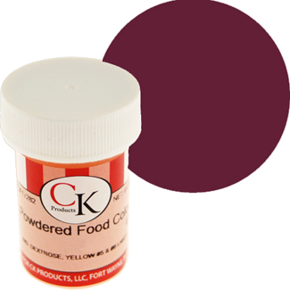 Burgundy CK Powdered Food Color