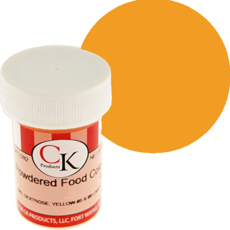 Gold CK Powdered Food Color
