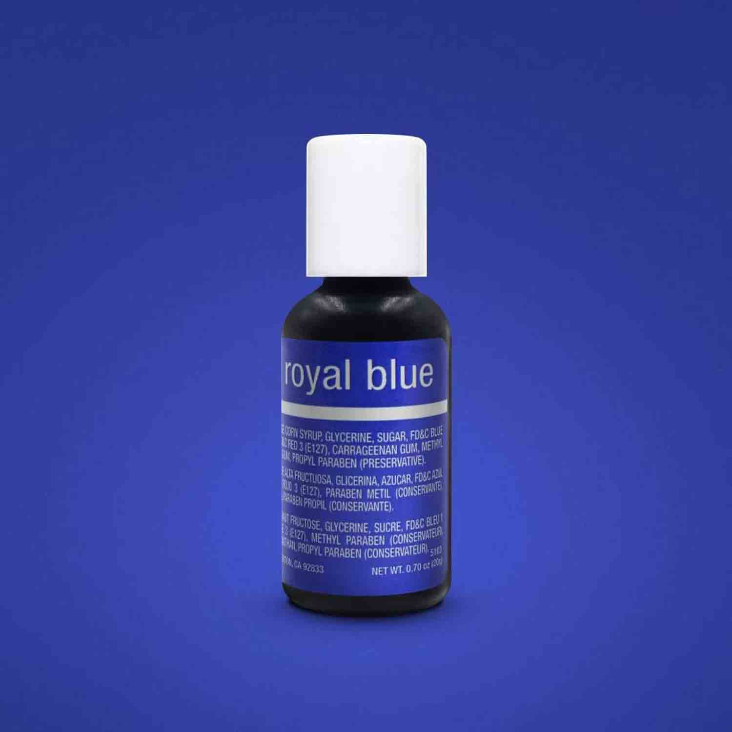 Royal Blue Liqua-gel® Food Color
