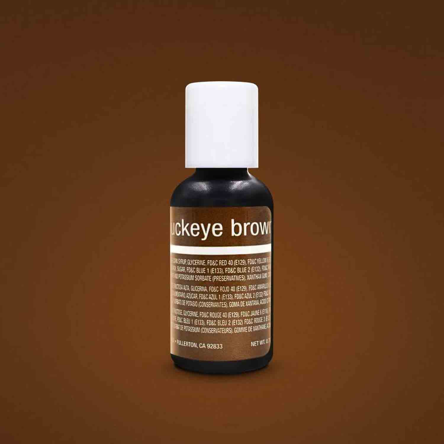 Buckeye Brown Liqua-gel® Food Color
