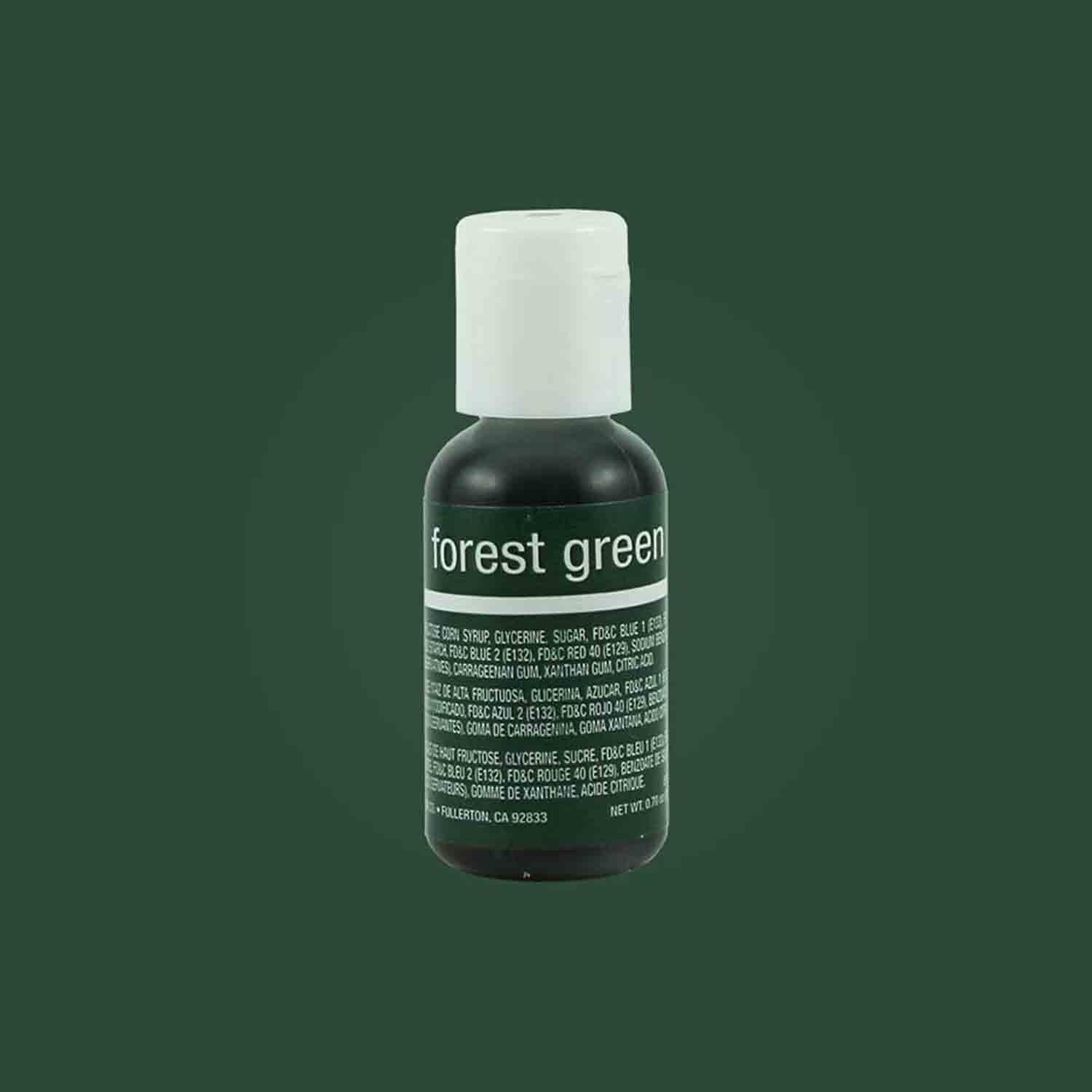 Forest Green Chefmaster® Liqua-gel® Food Color