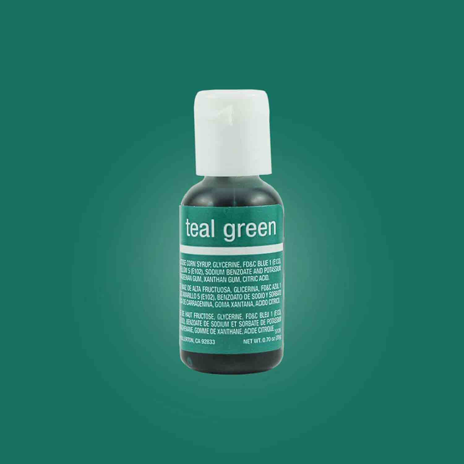Teal Green Liqua-gel® Food Color