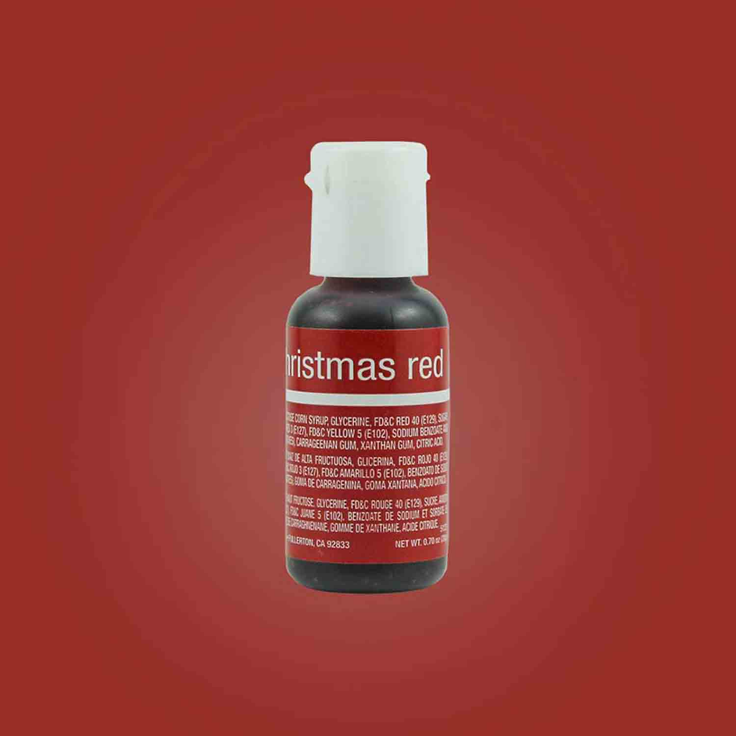 Christmas Red Liqua-gel® Food Color