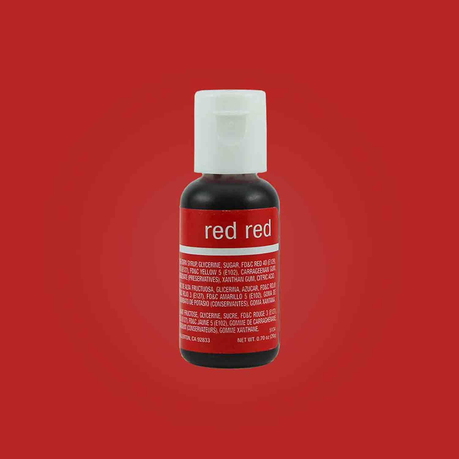Red Red Chefmaster® Liqua-gel® Food Color