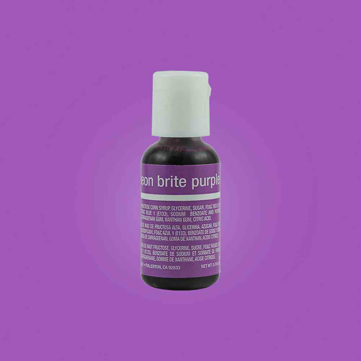 Neon Brite Purple Liqua-gel® Food Color