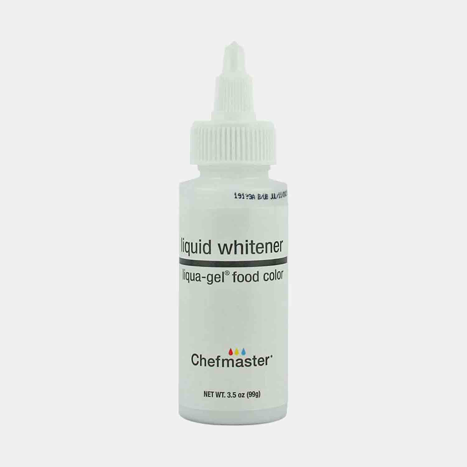 White Chefmaster Liqua-Gel Color