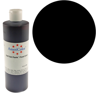 Super Black Americolor® Soft Gel Paste Food Color
