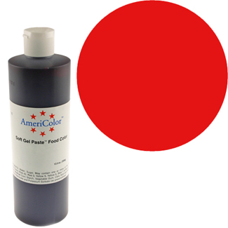 Red Red Americolor® Soft Gel Paste Food Color