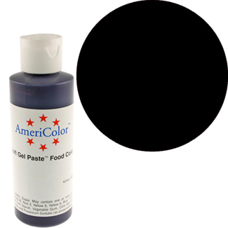 Super Black  Americolor® Soft Gel Paste Color