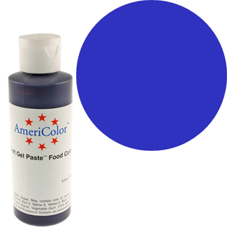 Royal Blue Americolor® Soft Gel Paste Food Color