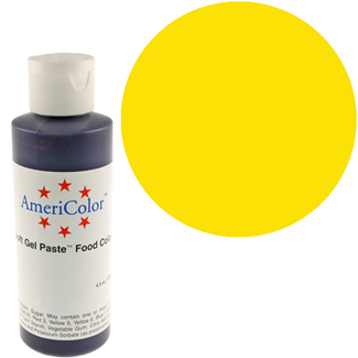 Lemon Yellow Americolor® Soft Gel Paste Food Color