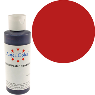 Super Red Americolor® Soft Gel Paste Food Color