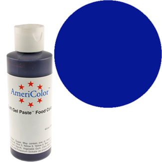 Navy Blue Americolor® Soft Gel Paste Color