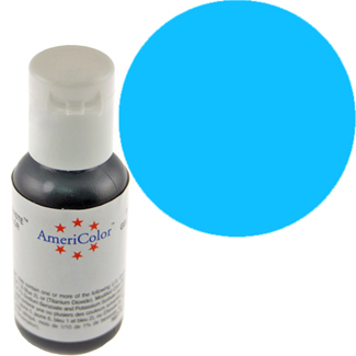 Sky Blue Americolor® Soft Gel Paste Color