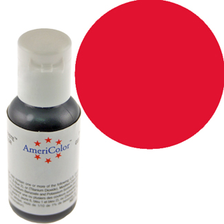Holiday Red Americolor® Soft Gel Paste Food Color